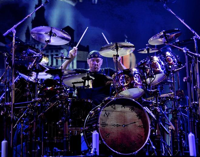 Rush drummer Neil Peart. - JOE KLEON
