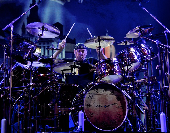 Rush drummer Neil Peart. - JOE KLEON