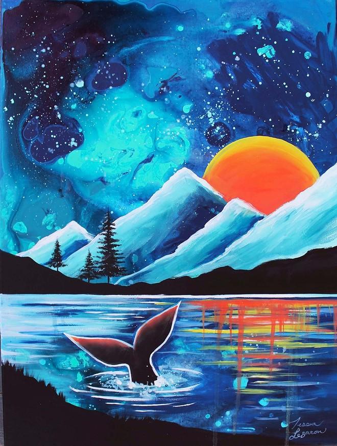 """LANDSCAPE #1: WHALE WATERS"" BY TESSA LEBARON"