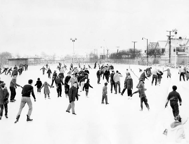 HALLORAN SKATING RINK IN 1960/ CLEVELAND MEMORY PROJECT
