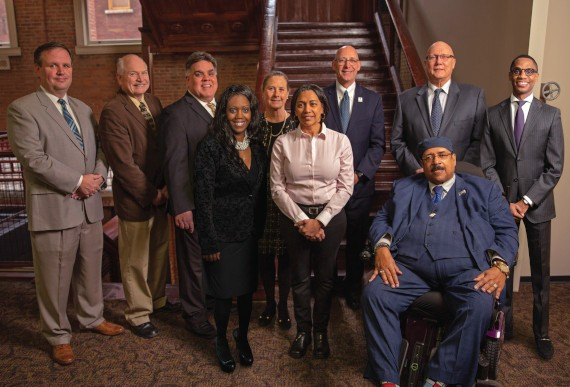 The Greater Cleveland Regional Transit Authority Board of Trustees (2021). - COURTESY RTA