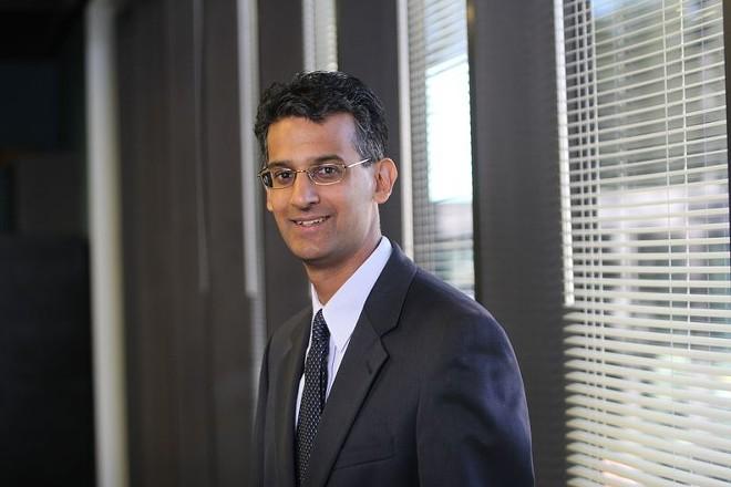 Baiju Shah, the head of the Greater Cleveland Partnership - COURTESY GCP
