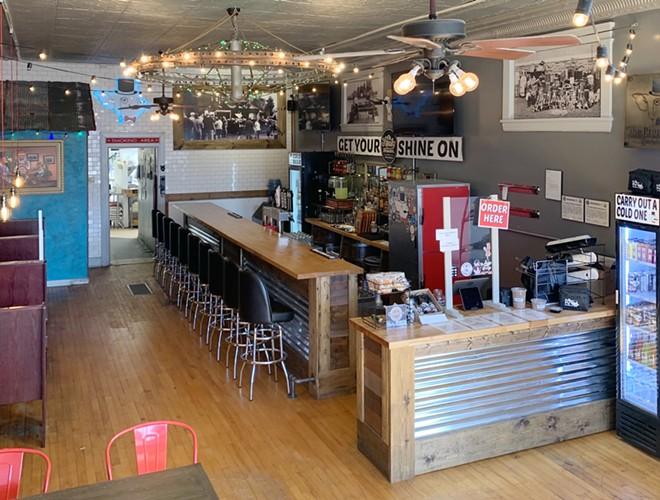 Proper Pig debuts new bar with full liquor license. - SHANE VIDOVIC