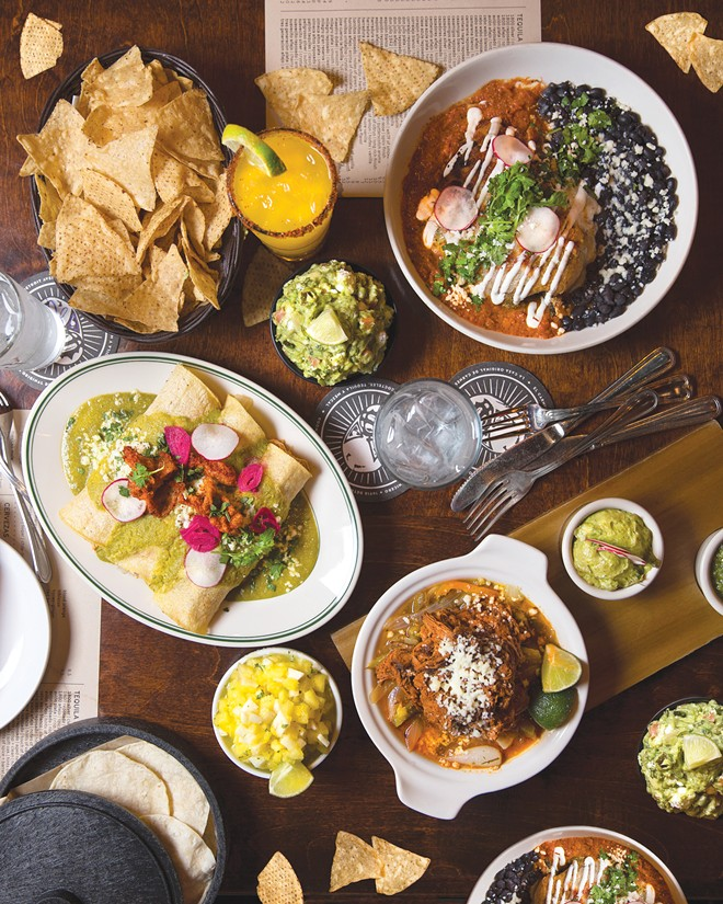 Some of the delicious offerings at El Carnicero. - PHOTOS BY KARIN MCKENNA