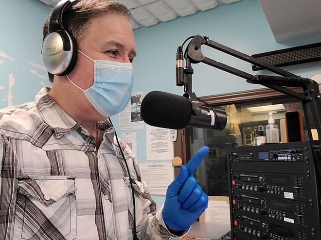 WRUW-FM's annual telethon returns next month. - DAVE CABAN