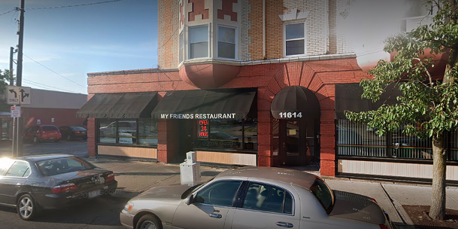 My Friends, at the corner of Detroit and W. 117th. - GOOGLE MAPS