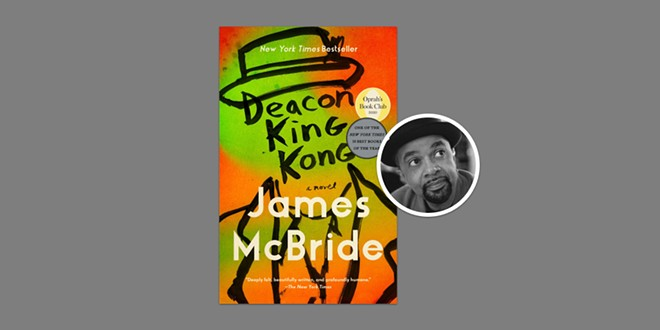 "James McBride won in the fiction category for ""Deacon King Kong"" - ANISFIELD-WOLF"