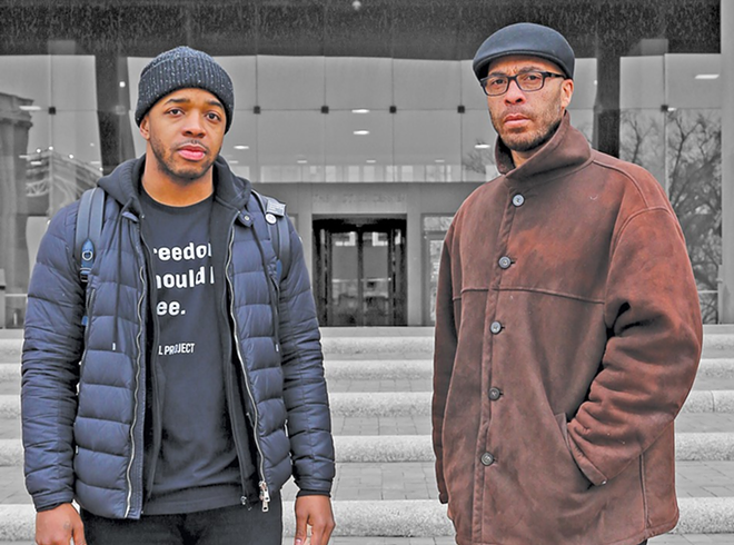 Anthony Body (left) filed a lawsuit against the city of Cleveland this week - PHOTO BY EMANUEL WALLACE