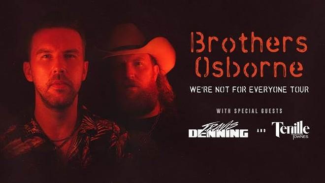 Brothers Osborne. - COURTESY OF UNIVERSAL MUSIC GROUP NASHVILLE