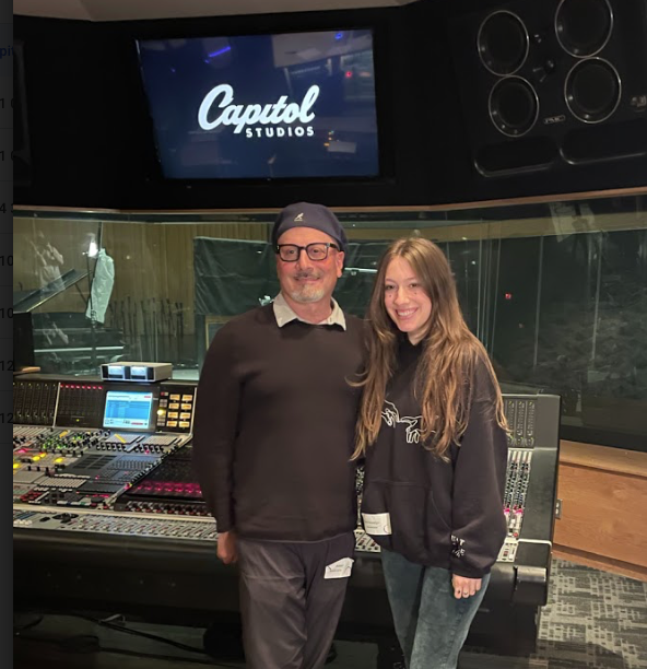 Producer Brian Malouf and singer-songwriter Gina Brooklyn. - COURTESY OF THE SYN