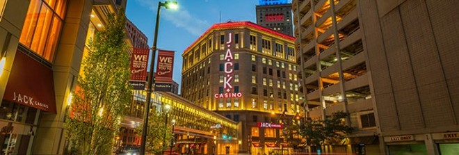 Dan Gilbert converted Higbee's Department Store to a casino, which opened in 2012. - JACK ENTERTAINMENT