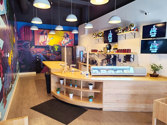City Pop Sushi is a colorful sushi cafe in downtown Cleveland. - BRYSON STROWDER