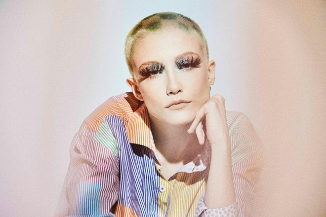 Indie singer-songwriter Chloe Moriondo. - SARAH GOLDSTEIN