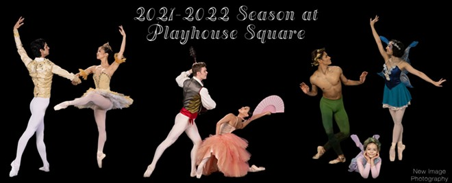 Ballet returns to Playhouse Square - NEW IMAGE PHOTOGRAPHY