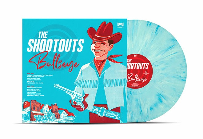 Cover art for the Shootouts' new album.