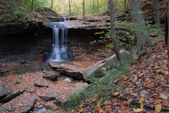 Blue Hen Falls in the Cuyahoga Valley National Park - NATIONAL PARK SERVICE