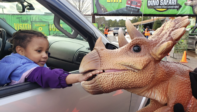 Dino Safari comes to town this weekend. - IMAGINE EXHIBITIONS