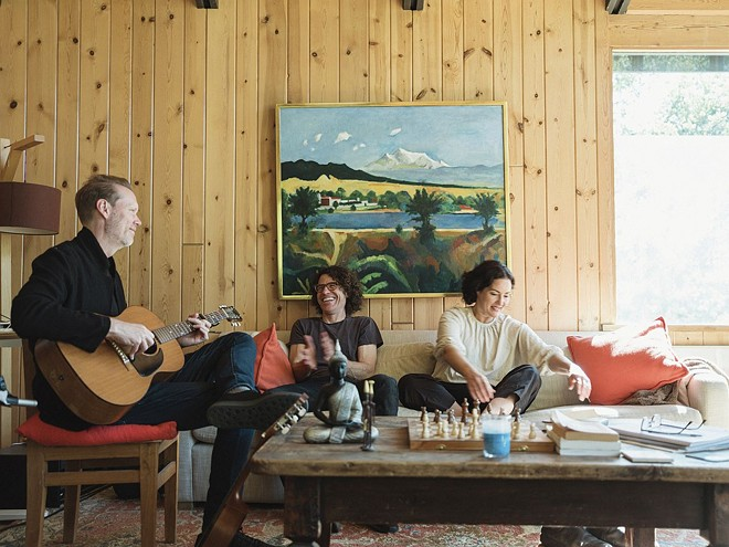 The indie-pop act Renee & Jeremy. - STUART BUNTON