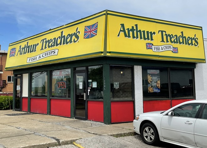 Arthur Treacher's is alive and well in Cleveland, Ohio. - DOUGLAS TRATTNER