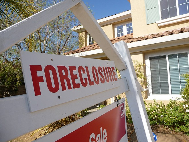 Ohio saw the highest increase in foreclosure actions last month, and Cleveland led major metro areas - BASICGOV/FLICKRCC