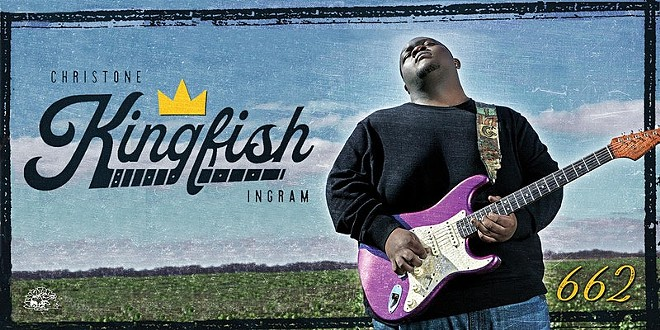 """Poster art for Christone """"Kingfish"""" Ingram's upcoming tour. - COURTESY OF THE KENT STAGE"""