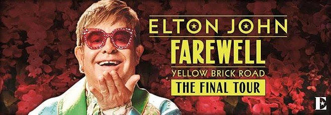Poster art for Elton's John tour. - COURTESY OF ROGERS AND COWAN