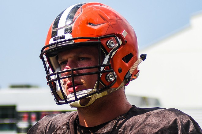 Carl Nassib during his time with the Browns - ERIK DROST/FLICKRCC