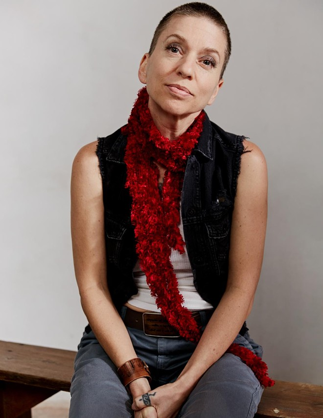 Singer-songwriter Ani DiFranco. - COURTESY OF THE KENT STAGE