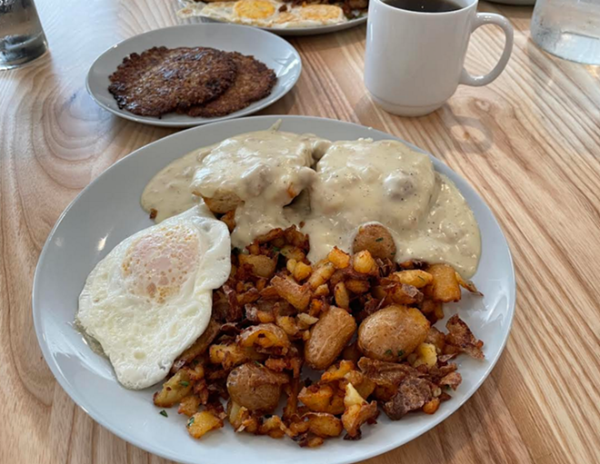 Rise and shine at The Sleepy Rooster - PHOTO BY DOUG TRATTNER