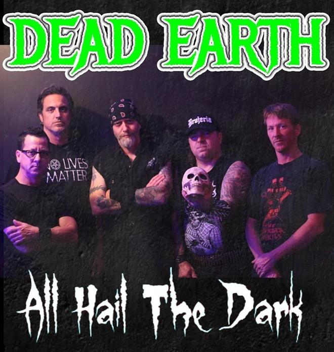 Cover art for tne Dead Earth EP. - COURTESY OF DEAD EARTH