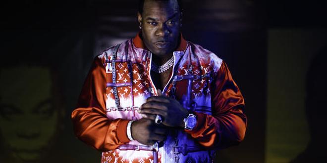 Rapper Busta Rhymes. - ROCKHALL.COM