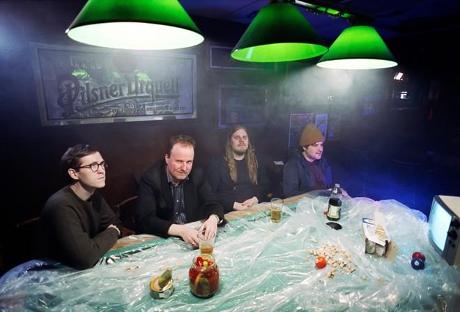 Indie rockers Protomartyr. - TREVOR NAUD