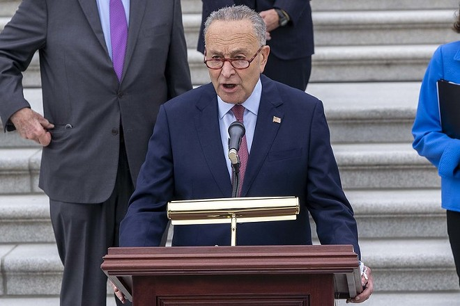 Senator Chuck Schumer. - SENATE DEMOCRATS/FLICKRCC