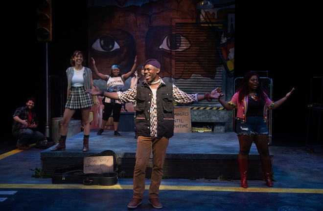 'BKLYN The Musical' at Porthouse Theatre - PHOTO BY BOB CHRISTY