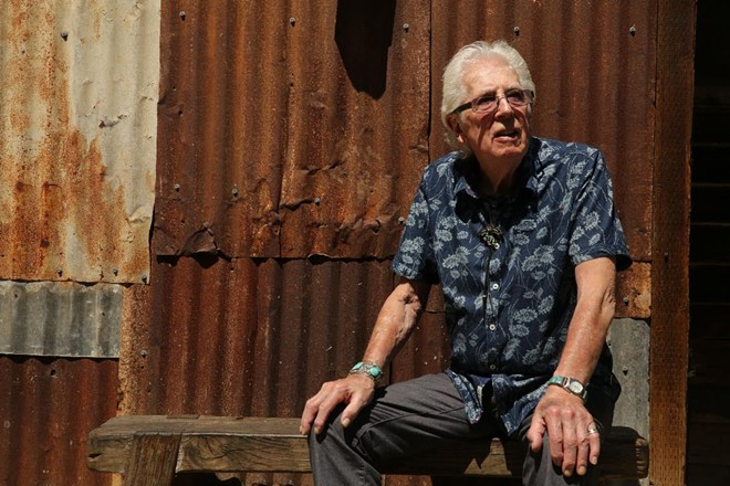 Singer-guitarist John Mayall. - COURTESY OF THE KENT STAGE