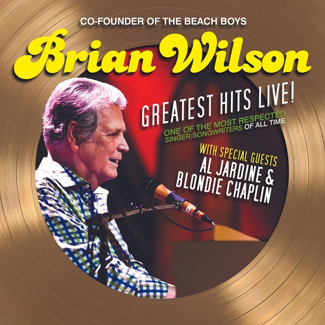 Poster art for Brian Wilson's new tour. - COURTESY OF LIVE NATION