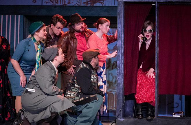 Amelie is at Mercury Theatre Company now - PHOTO COURTESY OF DAREN STAHL PHOTOGRAPHY