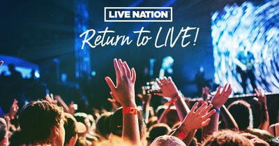 Promo art for Live Nation's ticket promotion. - COURTESY OF LIVE NATION