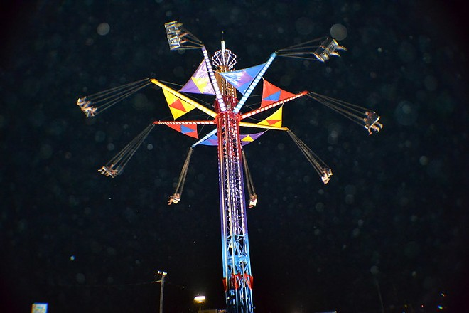 A ride at the Trumbull County fair - GEORGE BANNISTER/FLICKRCC