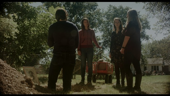 A scene from the short film Release. - COURTESY OF PAUL FRANCIS ZEGARAC