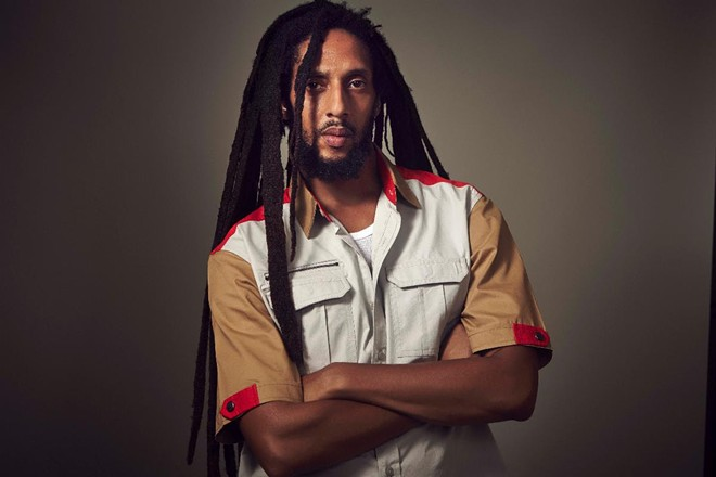 Singer Julian Marley. - COURTESY OF THE KENT STAGE