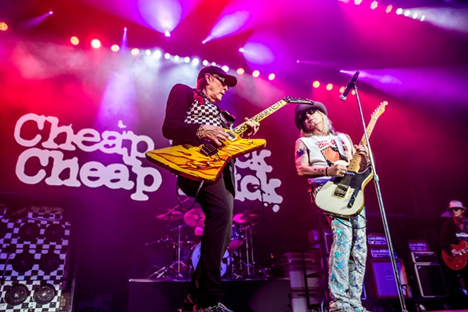 Cheap Trick playing at Jacobs Pavilion at Nautica. - PHOTO BY AMBER PATRICK
