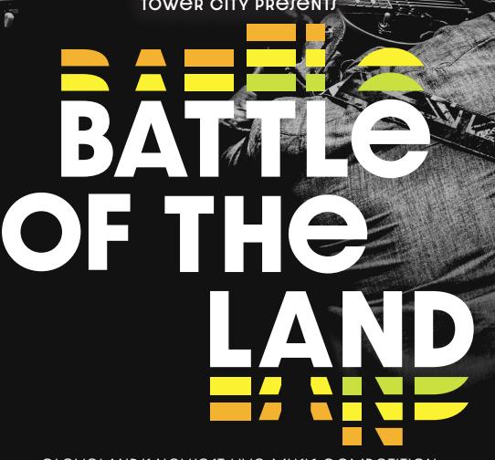 Battle of the Land promotional poster. - COURTESY OF BEDROCK CLEVELAND