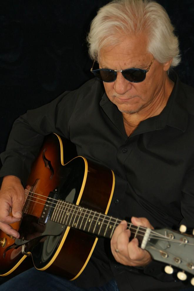 Local singer-songwriter Jim Scaparotti. - COURTESY OF JIM SCAPAROTTI