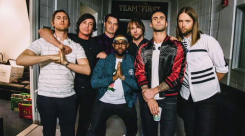 Maroon 5 comes to Blossom tonight. - COURTESY OF LIVE NATION