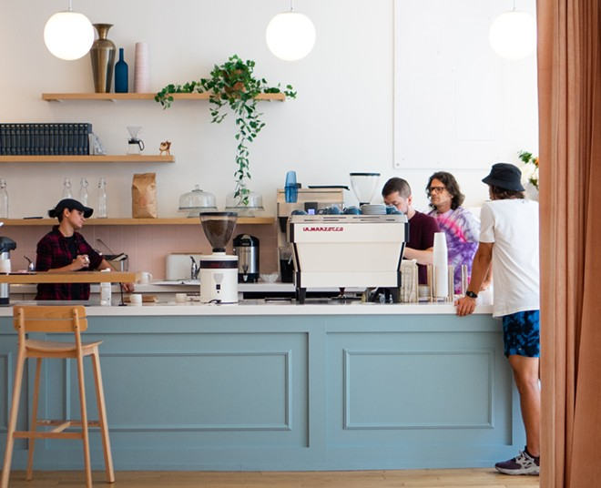 Lekko Coffee to take over former Foyer space in Ohio City. - LINDSEY POYAR