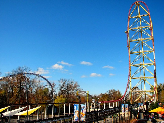 Top Thrill Dragster - JEREMY THOMPSON/FLICKRCC