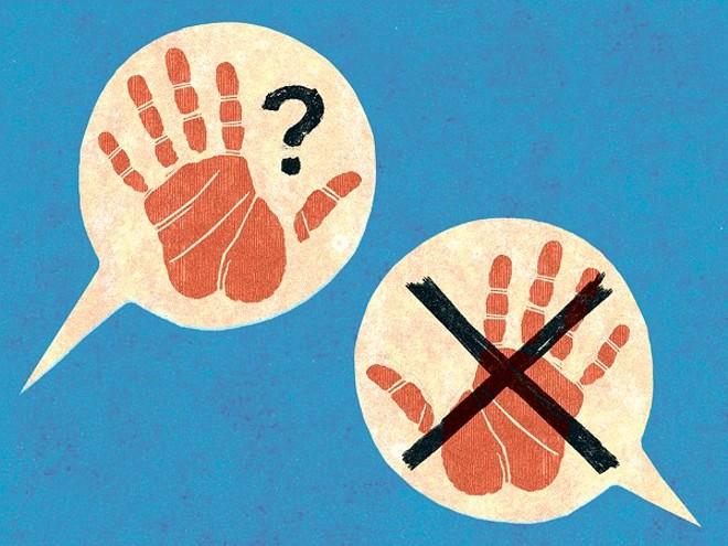 Hands off? - JOE NEWTON