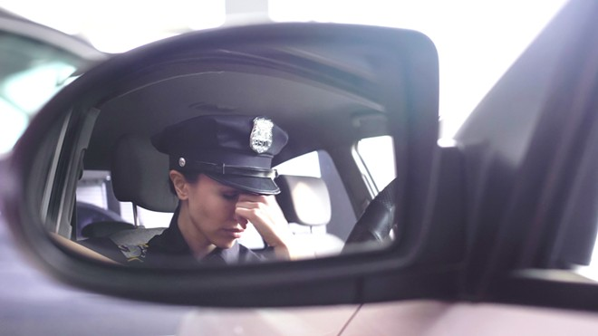 The stress police officers experience can result in serious health complications, such as PTSD. - (ADOBESTOCK)