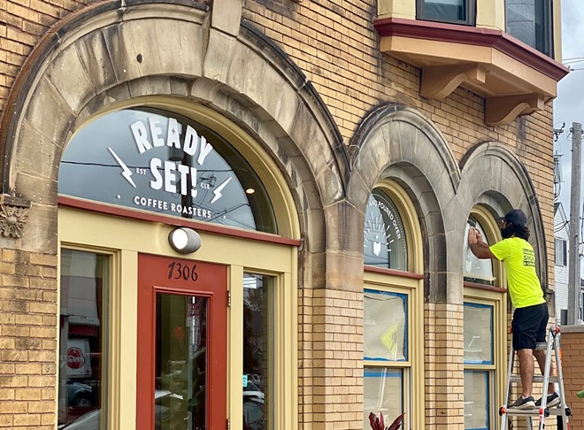 Ready Set! Coffee will open in Gordon Square in early October. - READY SET COFFEE